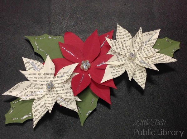 Pointsettia Paper Craft