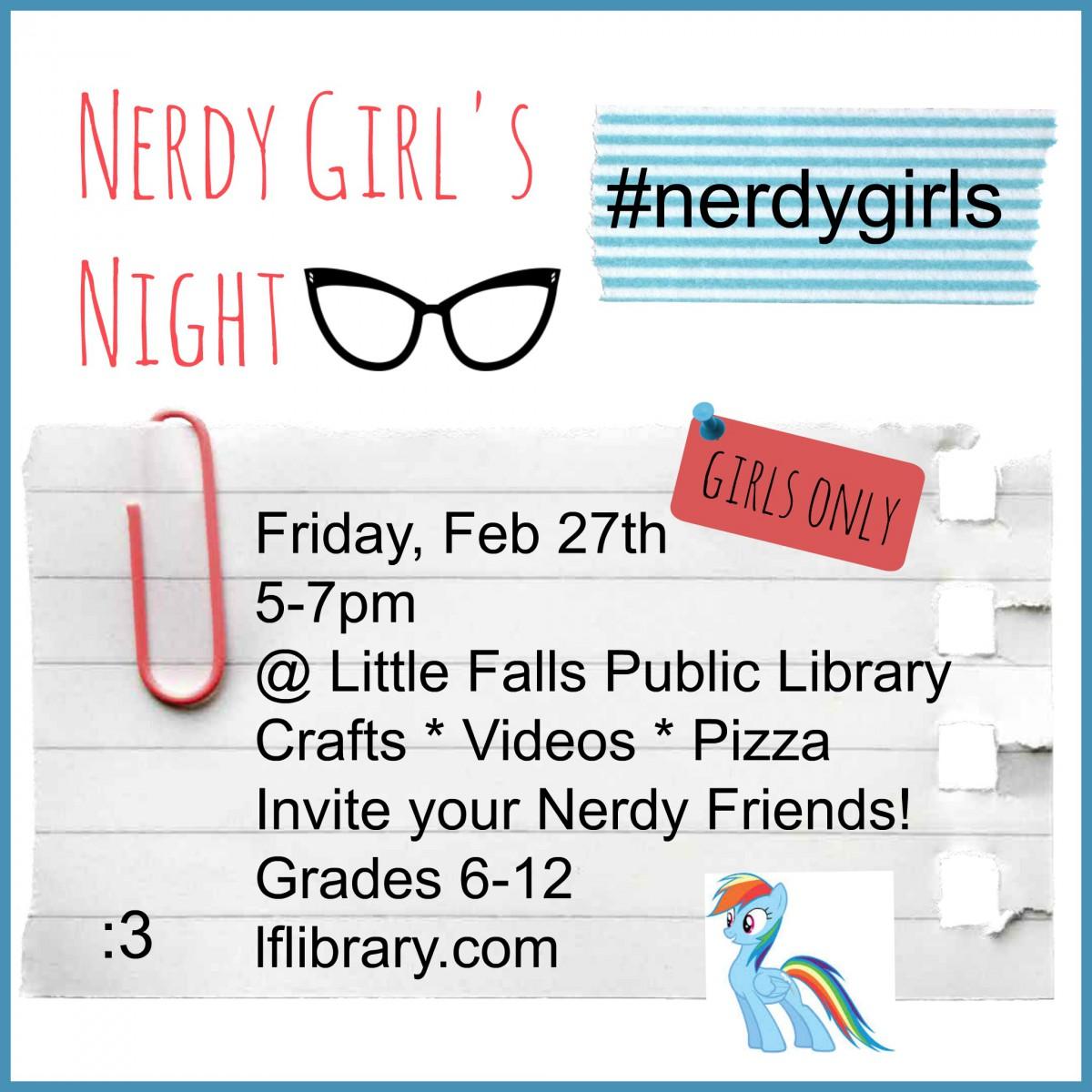Nerdy Girls Night
