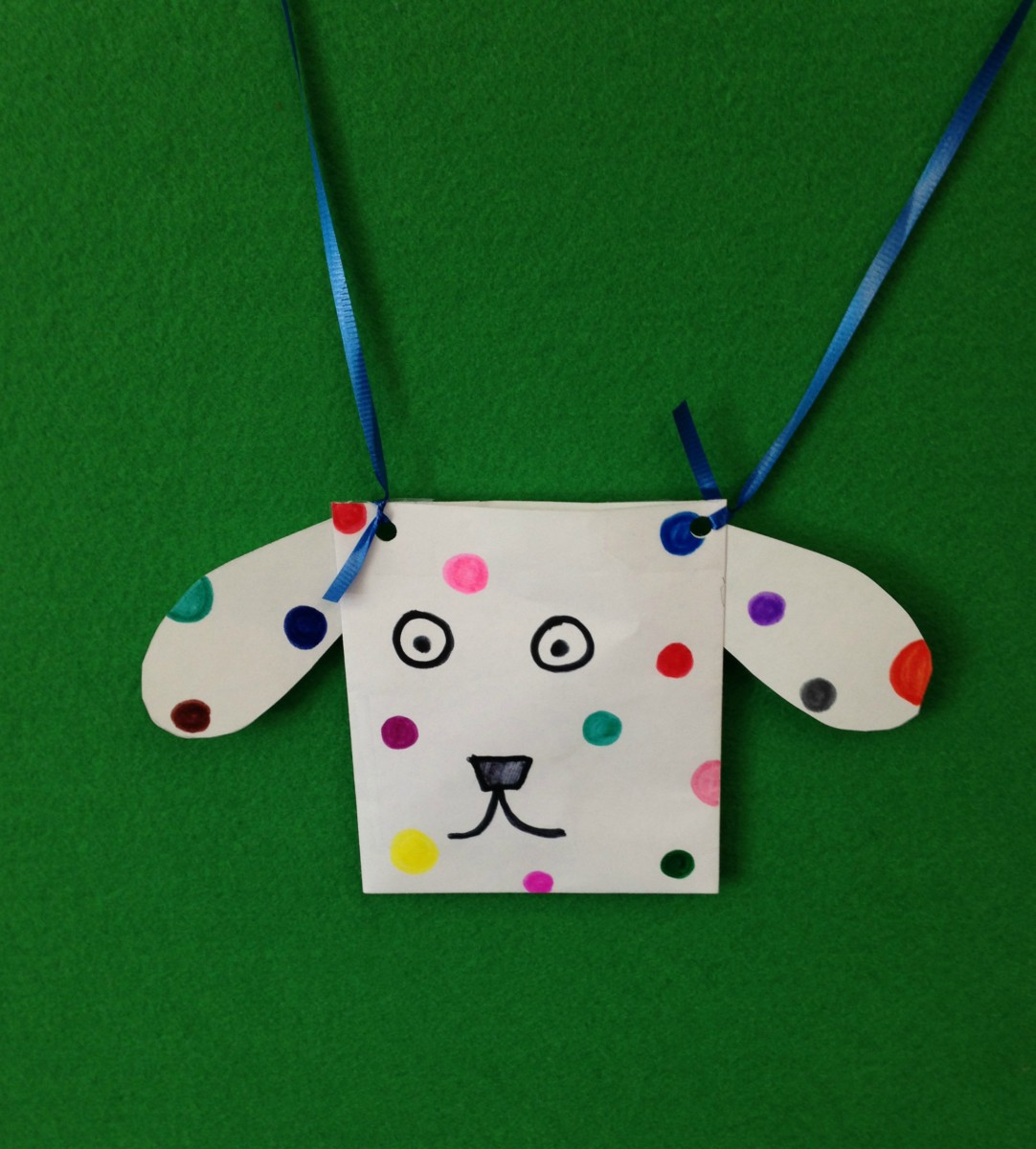 Dog's Colorful Day craft