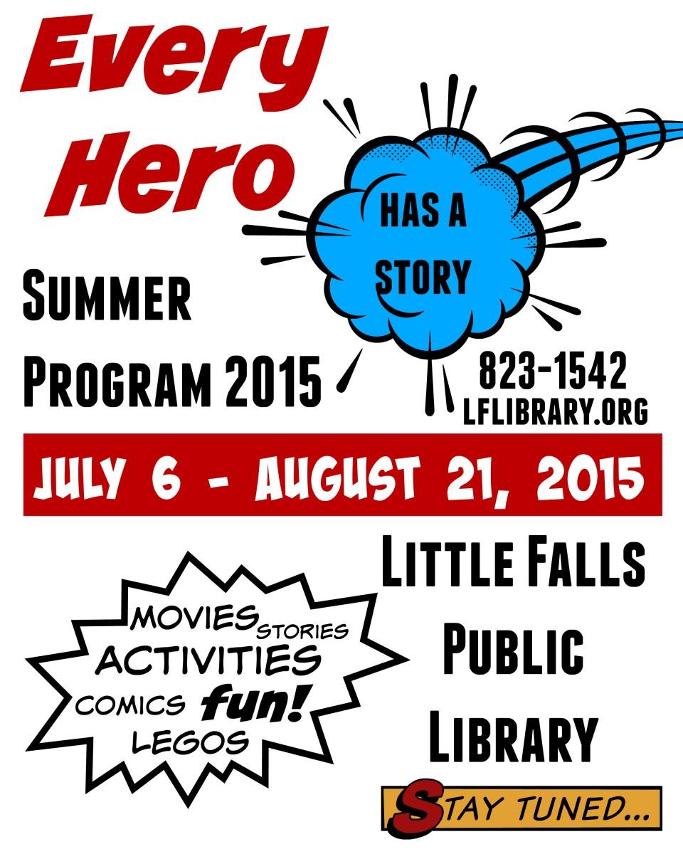 Summer Program 2015 Flyer