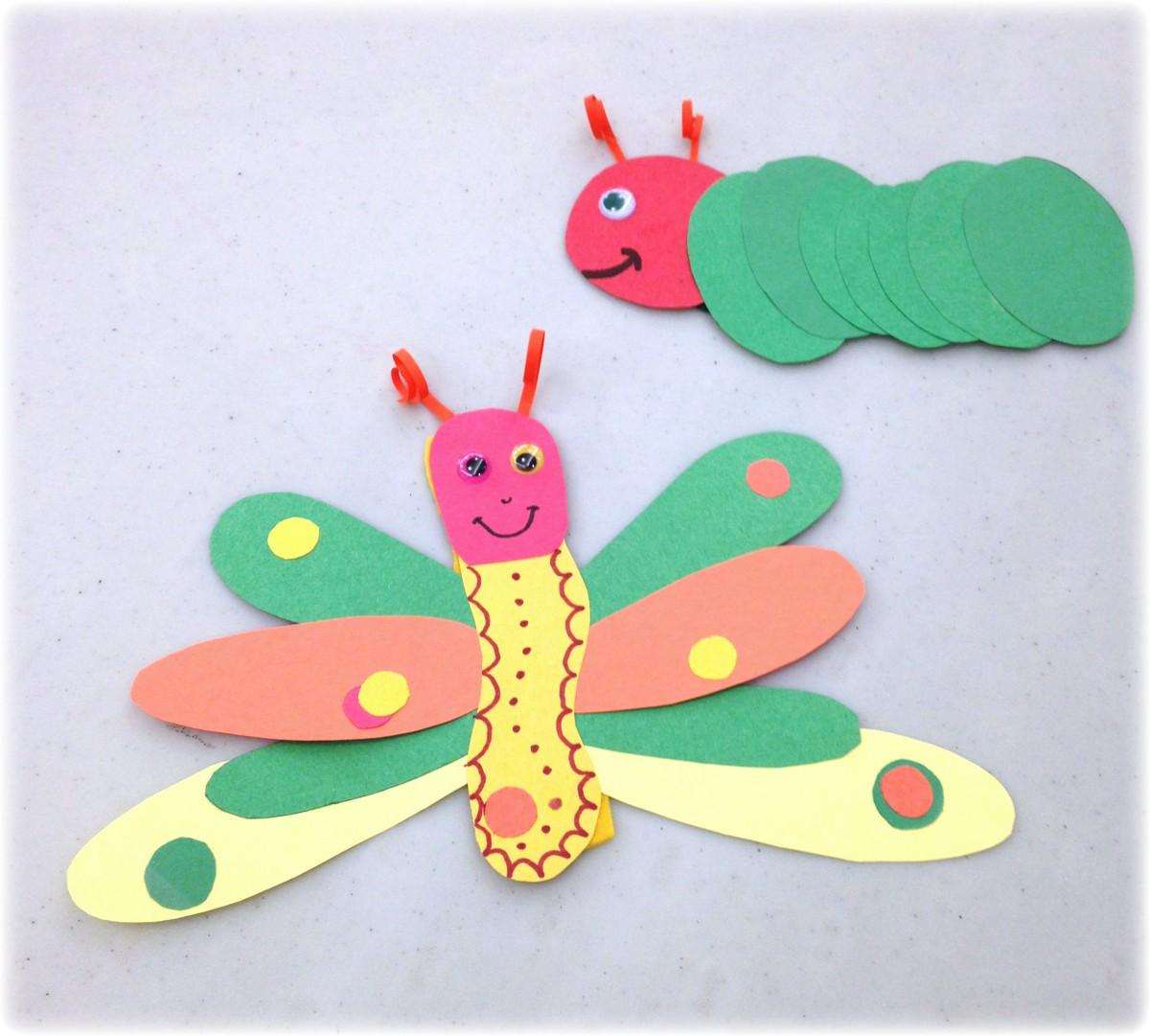 CaterpillarButterfly