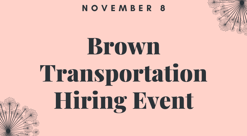 Brown Transportation Hiring Event (2)