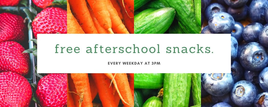free afterschool snacks