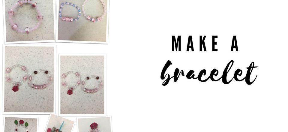 make a bracelet december